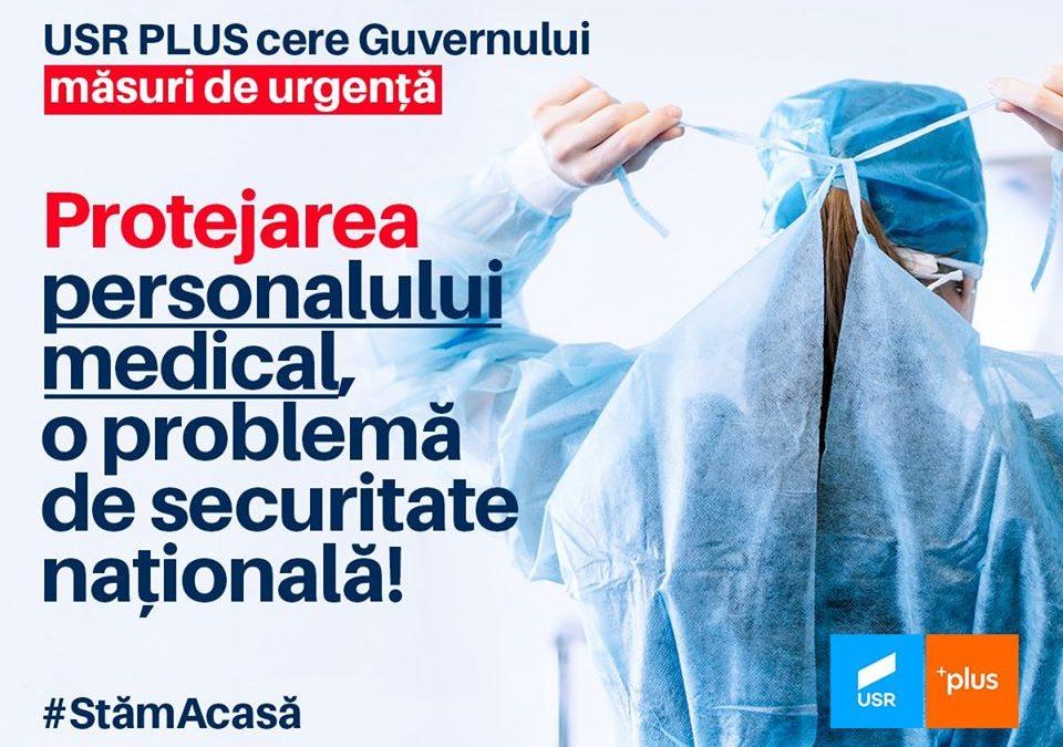 Cerem guvernului măsuri de urgență pentru protejarea personalului medical