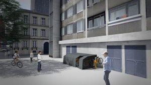 propunere concept parcare securizata rezidentiala 3