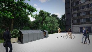 propunere concept parcare securizata rezidentiala 2