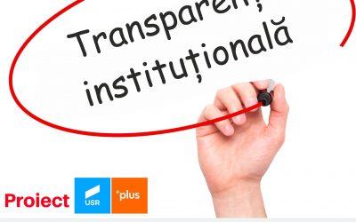Proiect de transpparentizare totală a activității Primăriei Sectorului 6 și a instituțiilor subordonate